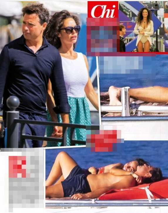Raffaella Fico spuntano le foto con il nuovo fidanzato prima di entrare al GF Vip