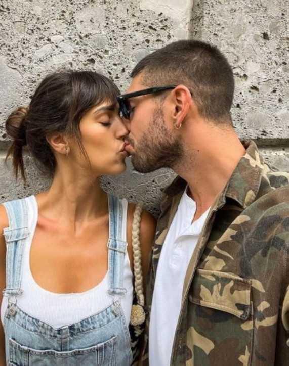 Cecilia Rodriguez e Ignazio Moser effusioni di coppia e baci appassionati