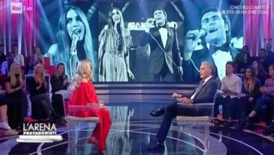 Romina Power risponde a Giletti in tv