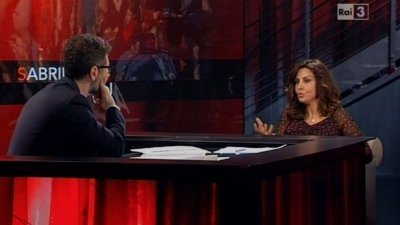 Sabrina Ferilli in tv non sono incinta
