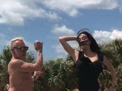 Gianluca Vacchi il balletto a Miami fa il boom