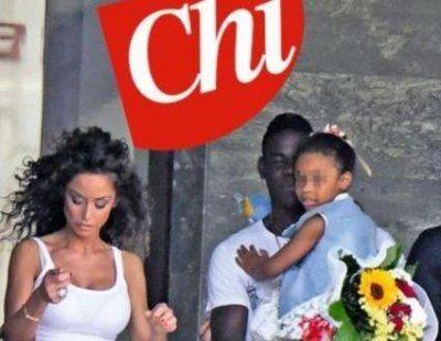 Mario Balotelli e Raffaella Fico insieme per la figlia