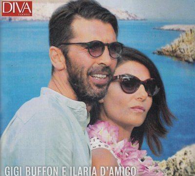 Gigi Buffon e Ilaria D'Amico vacanze relax in Grecia