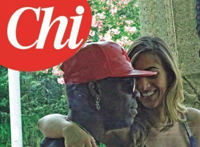 Mario Balotelli weekend d'amore con Serena