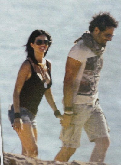 Laura Torrisi con Luca Betti relax a Formentera