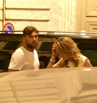 Aida Yespica sorpresa a Roma con il nuovo amore