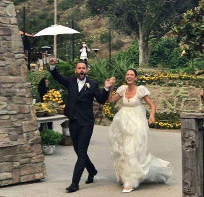 Le foto delle nozze di Bianca Balti e Matthew McRae