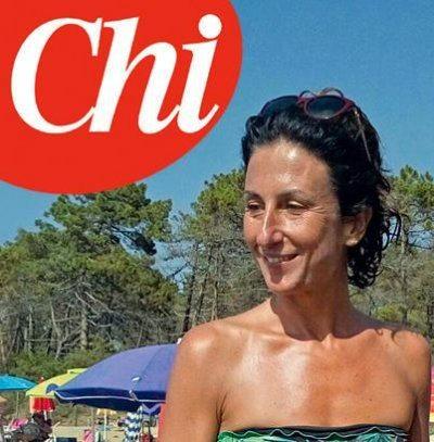 Agnese Renzi vacanze sobrie in un campeggio