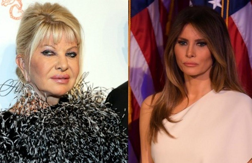 In tv Ivana Trump dichiara la first lady sono io