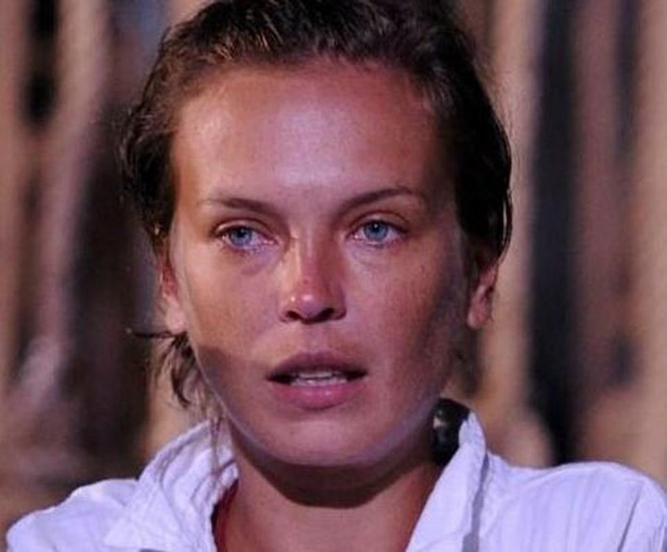 L'ex naufraga Andrea Lehotska ho rischiato di morire