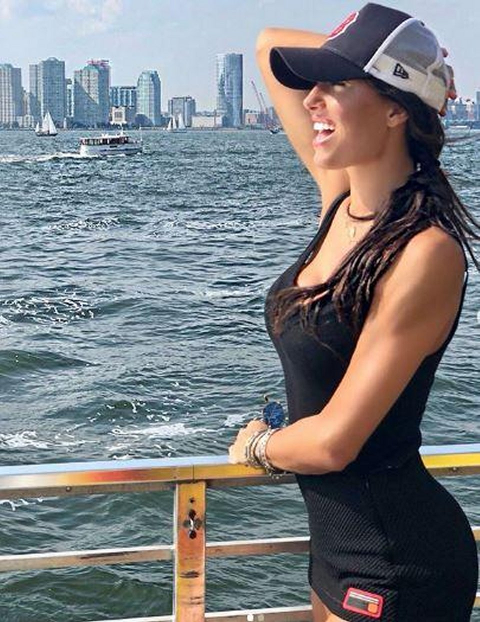 Elisabetta Gregoraci e Francesco Bettuzzi in vacanza a New York