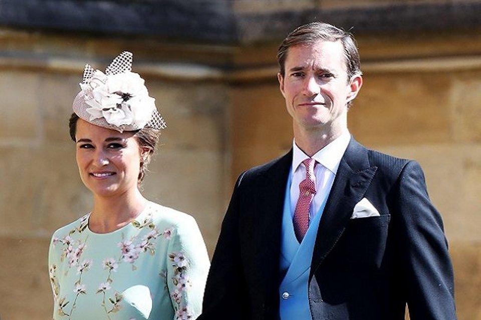Fiocco azzurro per Pippa Middleton