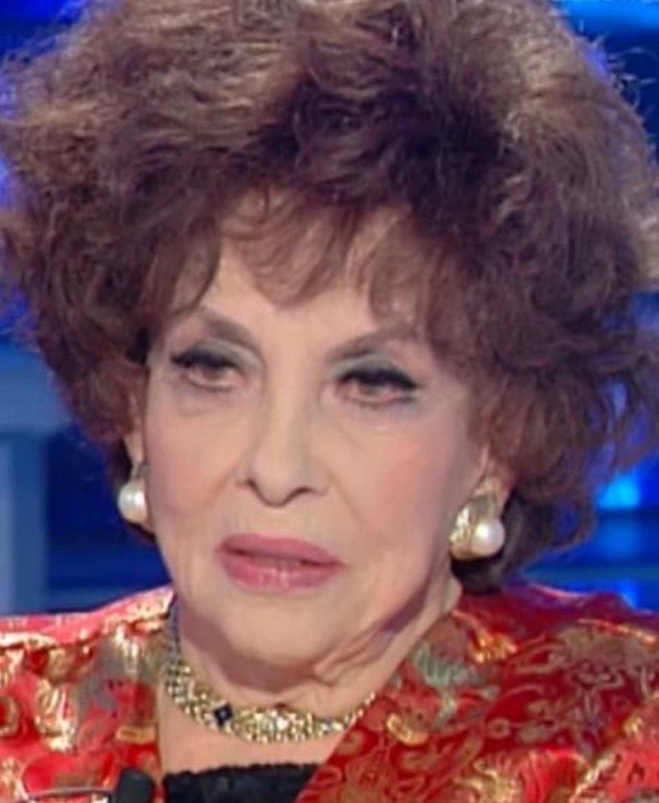 Domenica In Gina Lollobrigida ricorda la sua carriera