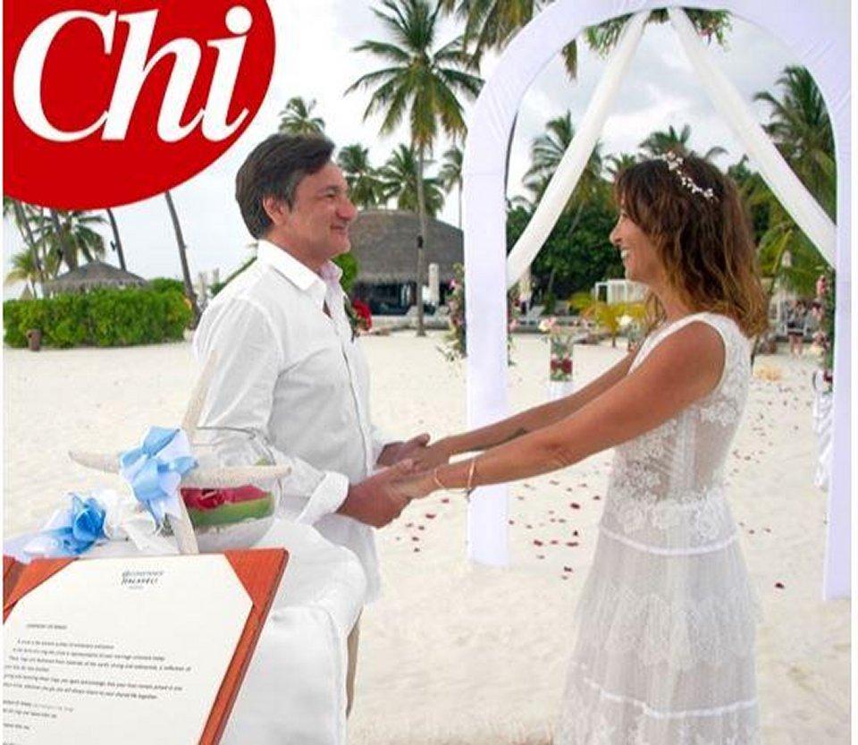 Benedetta Parodi e Fabio Canessa spuntano le foto delle seconde nozze