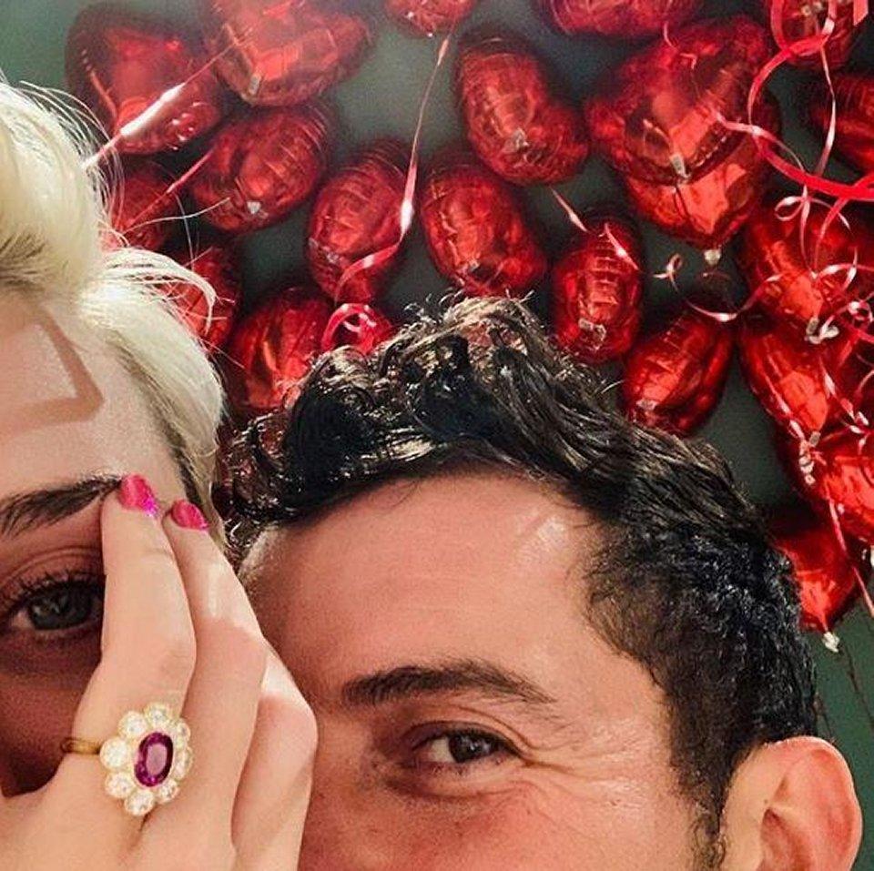 Orlando Bloom proposta di nozze a Katy Perry per San Valentino