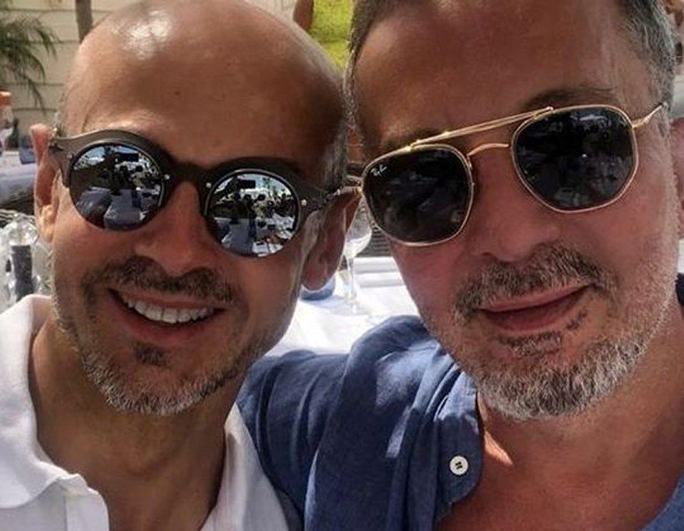Enzo Miccio le prime foto social con il compagno Laurent
