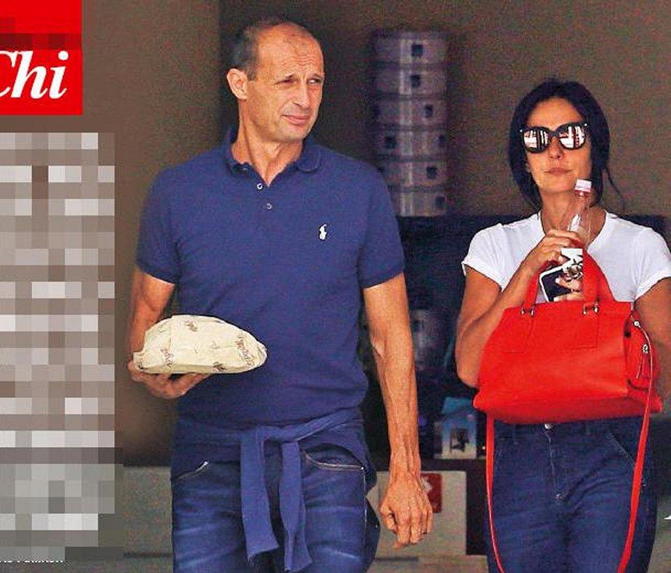Massimiliano Allegri per amore di Ambra si trasferisce a Brescia
