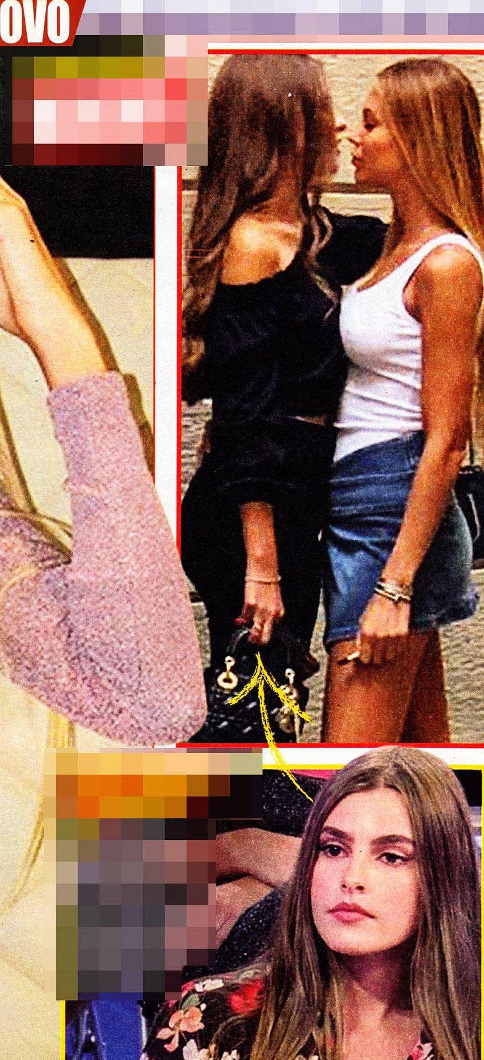 Taylor Mega bacia un' ex corteggiatrice di Uomini e Donne