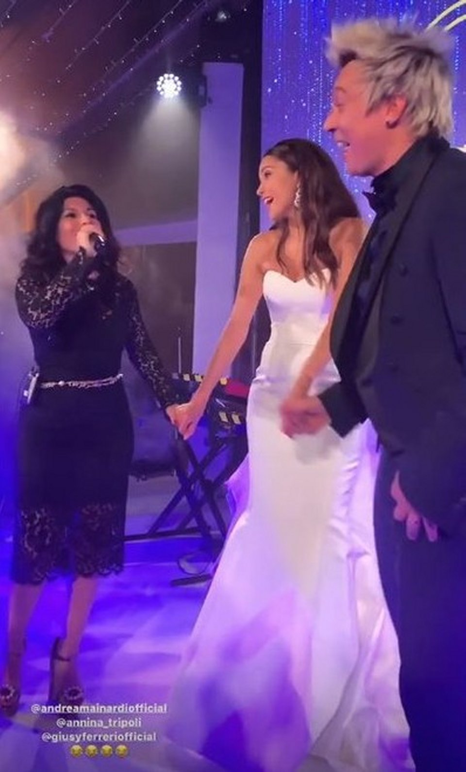 Il cuoco Andrea Minardi e Anna Tripoli si sono sposati