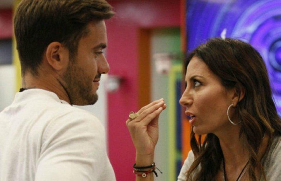 Elisabetta Gregoraci faccia a faccia con Pierpaolo Petrelli al GF Vip