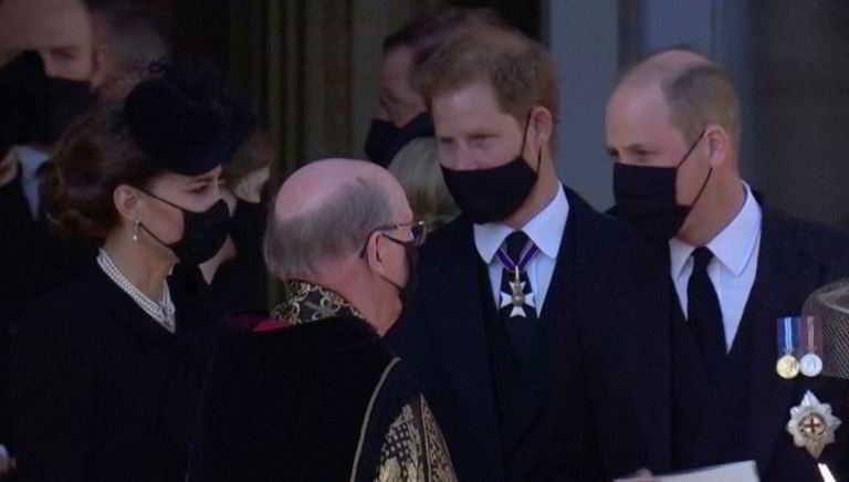 La tregua tra William e Harry con Kate Middleton paciera