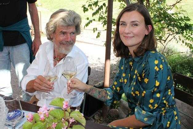 Reinhold Messner si risposa per la terza volta con Diane Schumacher