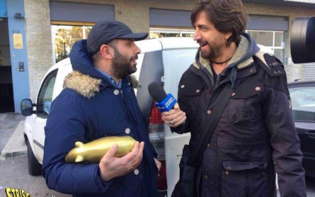Checco Zalone riceve il tapiro d'oro perchè non ha ritirato il David di Donatello