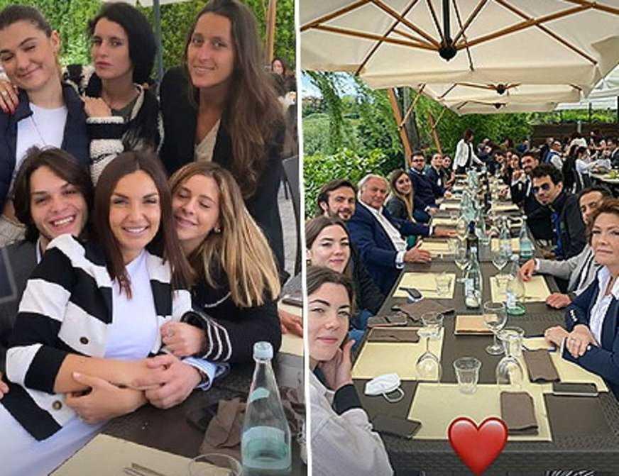 Elettra Lamborghini un super pranzo in famiglia per festeggia il suo compleanno