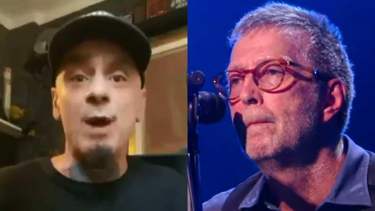J-Ax dopo le parole di Eric Clapton il rapper lo attacca sui social