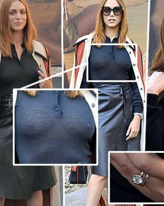 Miriam Leone look provocante alla Fashion Week a Milano