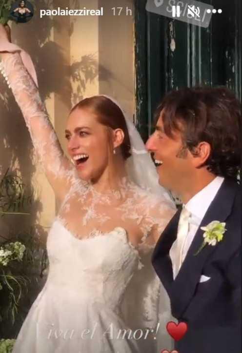Miriam Leone e Paolo Carullo si sono sposati con un matrimonio siciliano e romantico