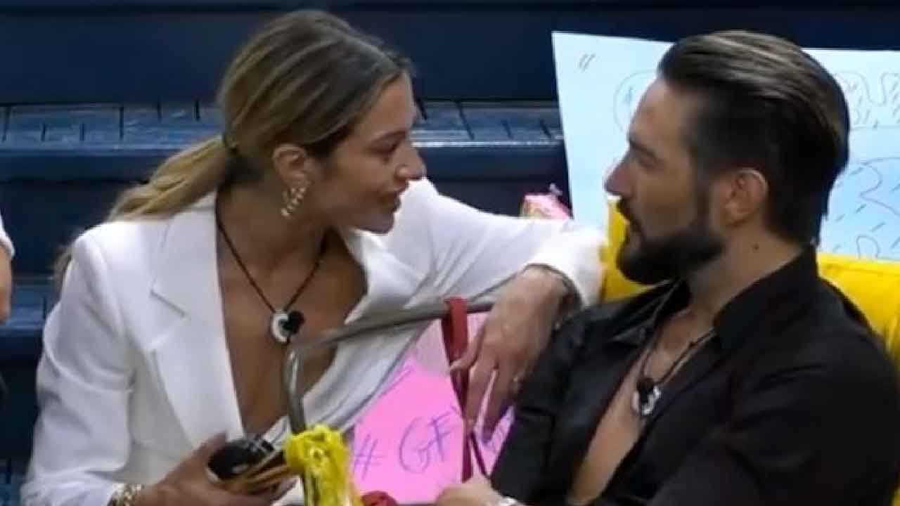 Delia Duran gelosa del rapporto tra Alex Belli e Soleil al GF Vip