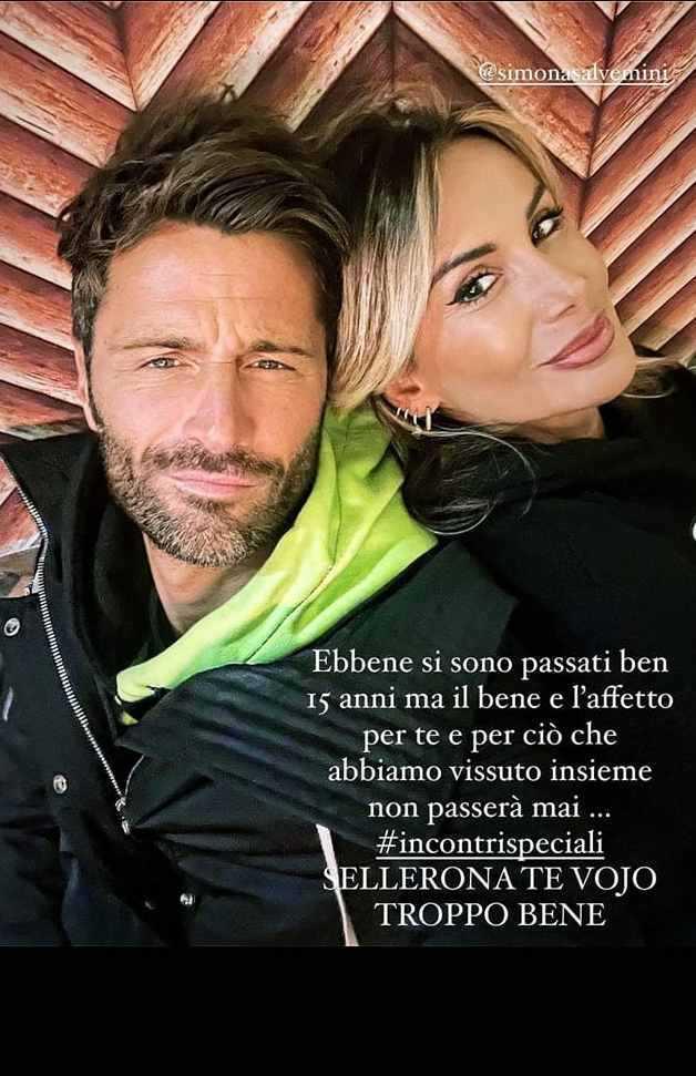 Filippo Bisciglia ritrova l'ex Simona Salvemini su Instagram Sellerona te vojo troppo bene