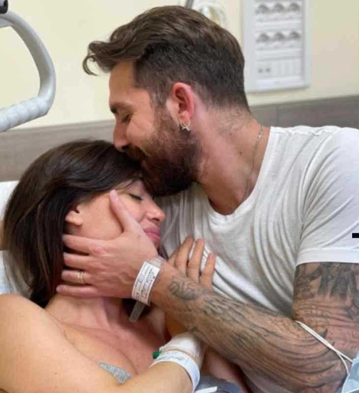 Lorella Boccia è diventata mamma è nata la piccola Luce Althea