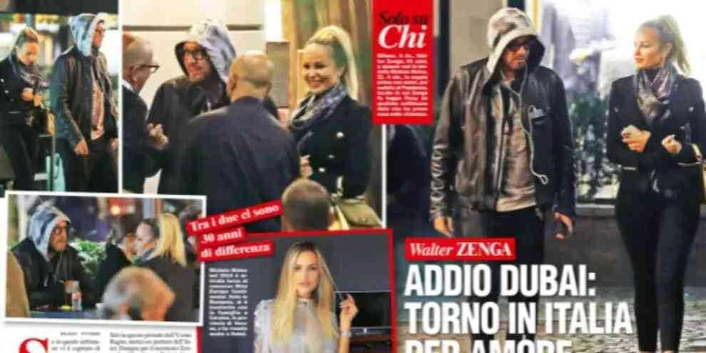 Walter Zenga è stato sorpreso con la sua nuova fiamma a Milano