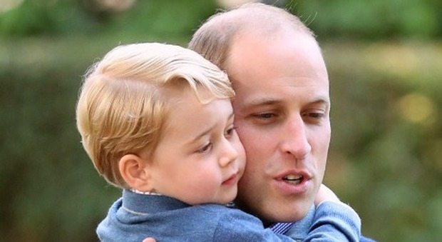 Il principe William pubblica questa foto con George su Twitter e scoppia la polemica. Ecco perché