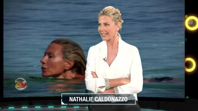 """L?Isola dei Famosi, Nathaly Caldonazzo in videochat: """"Sono felice di essere tornata a casa"""""""