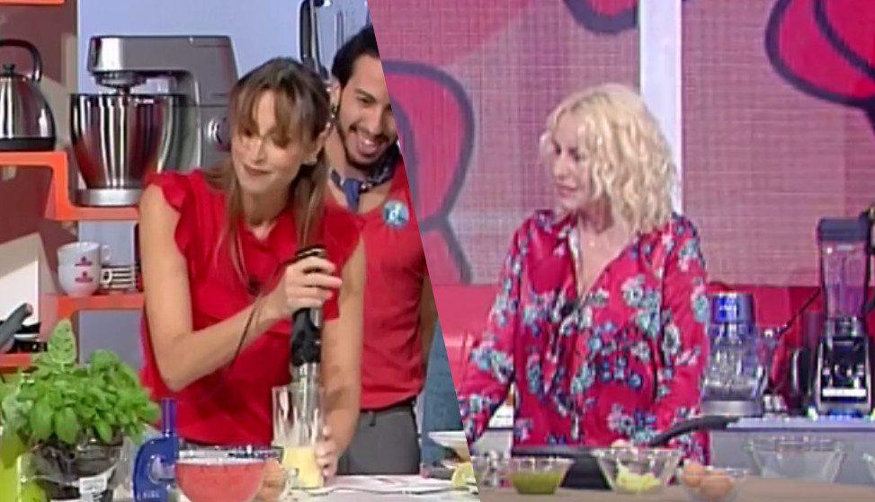 Benedetta Parodi sbaglia ricetta a Domenica In, Antonella Clerici mette il dito nella piaga: ecco cosa ha fatto