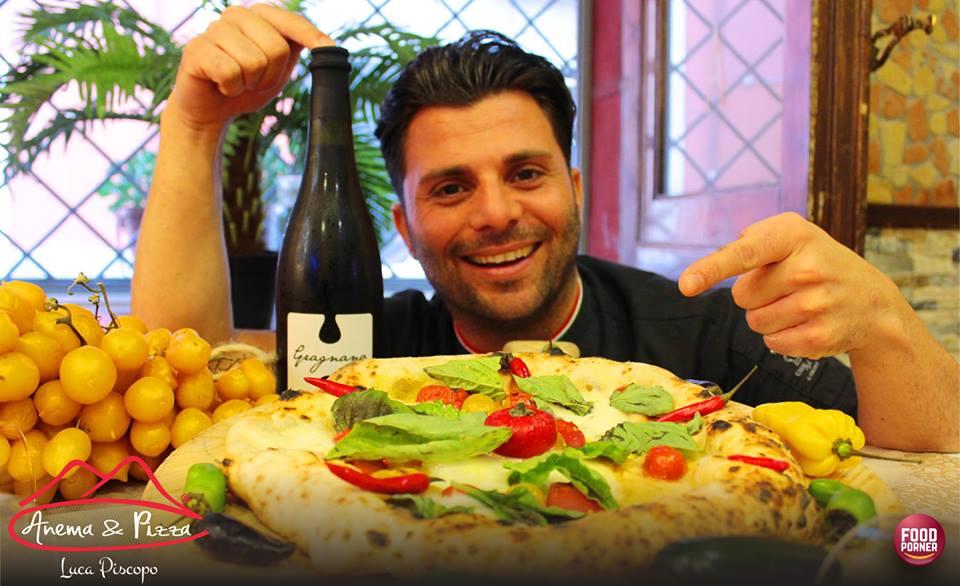 """Luca Piscopo e """" ANEMA & PIZZA"""", il pizzaiolo napoletano ha realizzato un sogno!"""