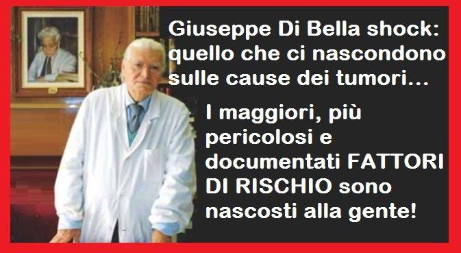 Giuseppe Di Bella shock: quello che ci nascondono sulle cause dei tumori – I maggiori, più pericolosi e documentati FATTORI DI RISCHIO sono nascosti alla gente...!