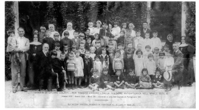 Gruaro – La strage dimenticata dei 28 bambini italiani morti dopo il vaccino