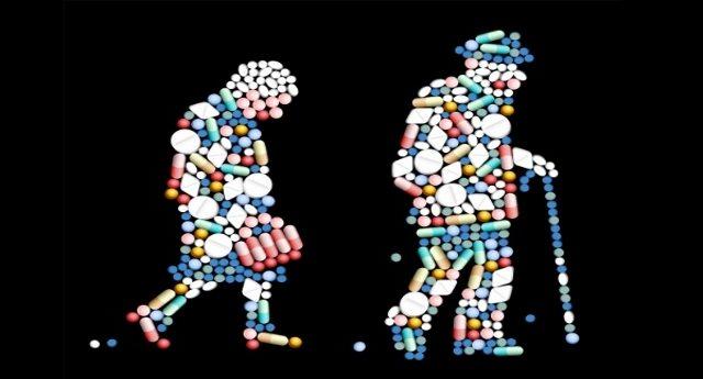 Troppi farmaci per gli over 65 - 1,3 milioni gli italiani prendono anche 10 medicine diverse. Troppe! A chi fanno bene? Agli anziani o alle casse delle case farmaceutiche?