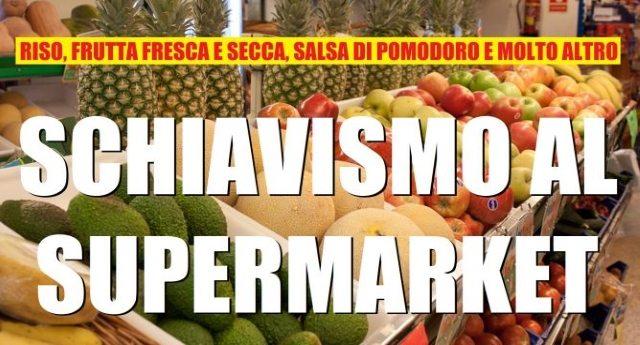 Riso asiatico, conserve di pomodoro cinesi, nocciole turche: ecco nei supermarket i prodotti dello schiavismo. Il tutto con l'OK della UE...!