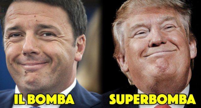 Matteo Renzi: i Cinquestelle sanno solo distruggere! Caro Matteo, è difficile distruggere qualcosa quando VOI avete lasciato SOLO MACERIE...!