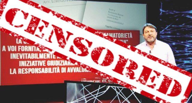 """Report ha dato fastidio a Renzi & C. - Pronto il contrattacco: """"Via copertura legale""""... Che significa? Significa CENSURA... Ecco come vogliono imbavagliare una delle poche voci ancora libere!"""