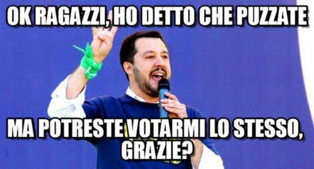 """Noi con Salvini, il sud risponde: """"Col cazzo!"""" - Il megaflop in Campania: su 88 comuni solo 3 liste!"""