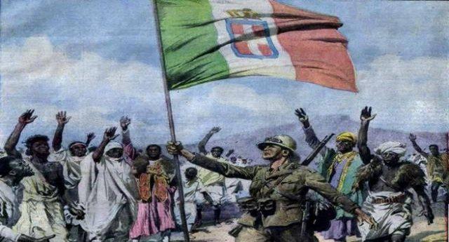 """...Ma la più grande strage di Cristiani nella storia Africana è opera dei fascisti Italiani (dedicato a quelli che """"ha fatto anche cose buone"""")"""