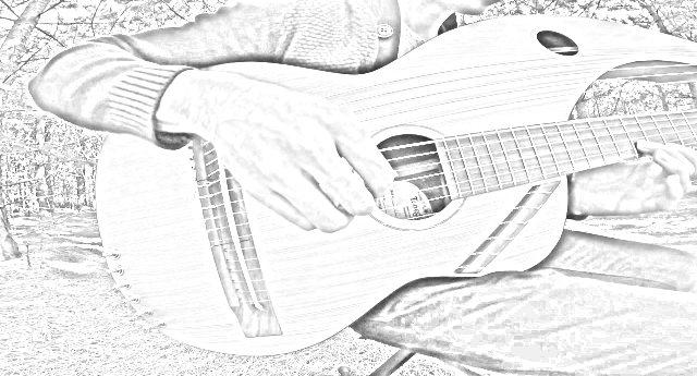 """Jamie Depuis, l'artista che suona """"The Sound of Silence"""" con una chitarra a 18 corde – preparatevi a un momento magico..."""