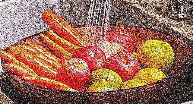 Vuoi eliminare i pesticidi su frutta e verdura? La ricetta è semplice ed economica: il bicarbonato. Ne elimina il 96%...!