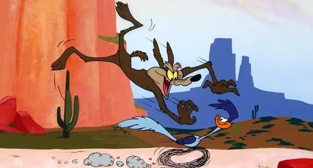 Attenzione. È il grande giorno - il video che sin da bambini abbiamo sempre sognato di vedere: Willy Coyote cattura Beep-Beep...!